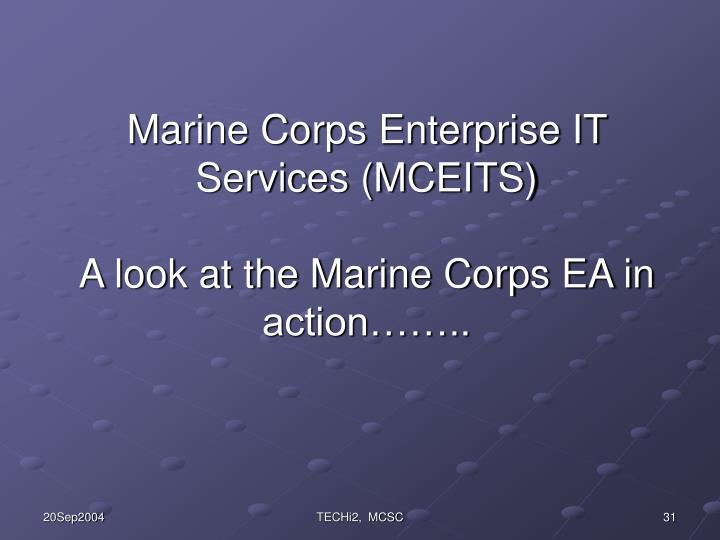 Marine Corps Enterprise IT Services (MCEITS)