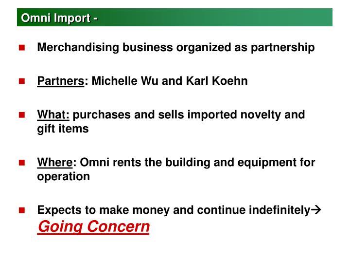 Omni Import -