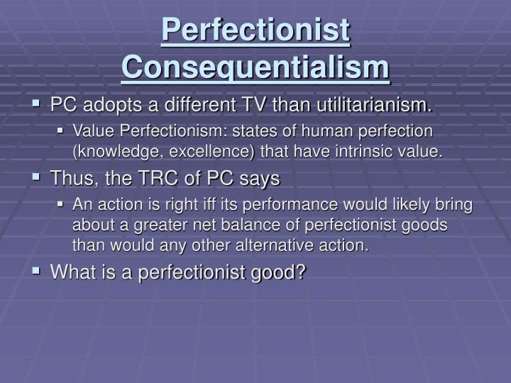 Perfectionist Consequentialism
