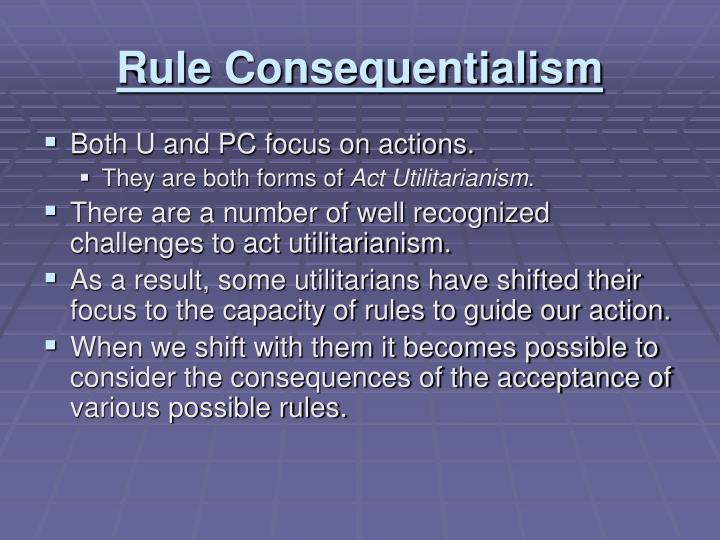 Rule Consequentialism