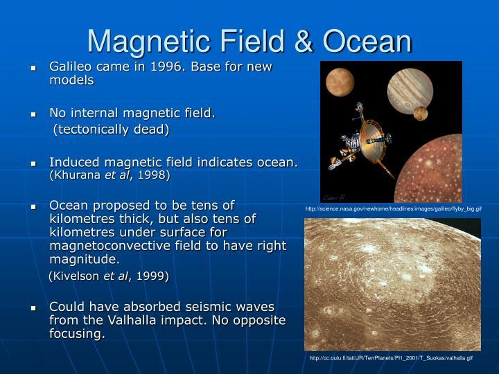 Magnetic Field & Ocean