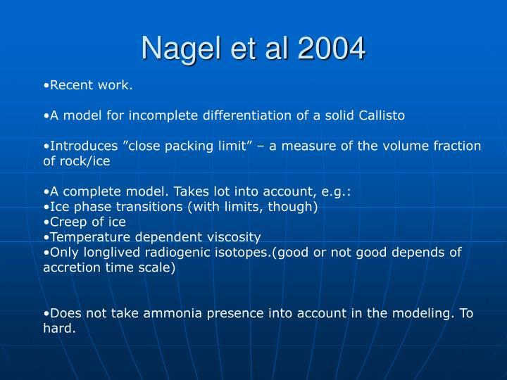 Nagel et al 2004