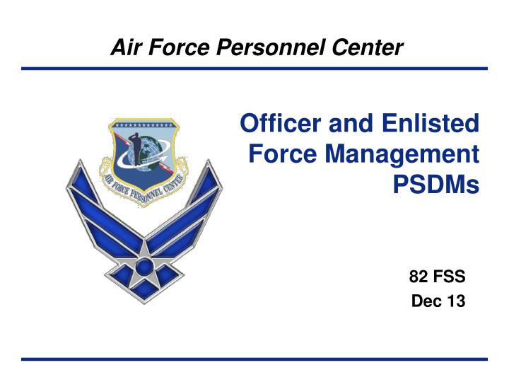 Officer and Enlisted