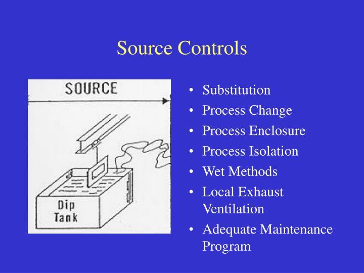 Source Controls