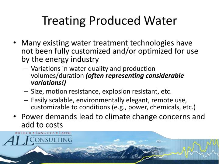 Treating Produced Water