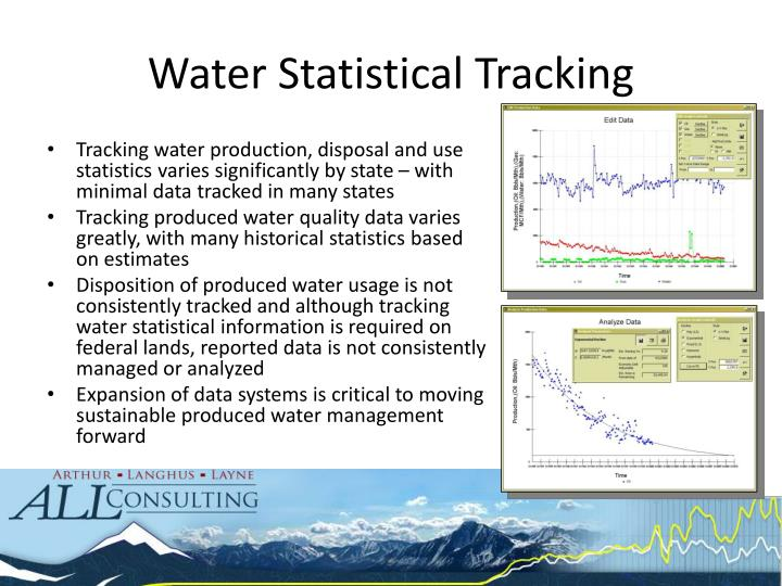 Water Statistical Tracking