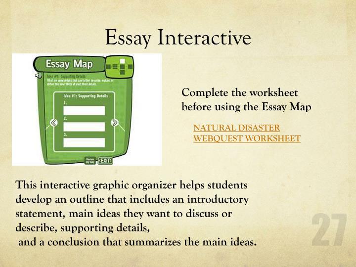 Essay Interactive