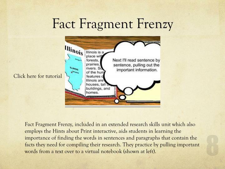Fact Fragment Frenzy