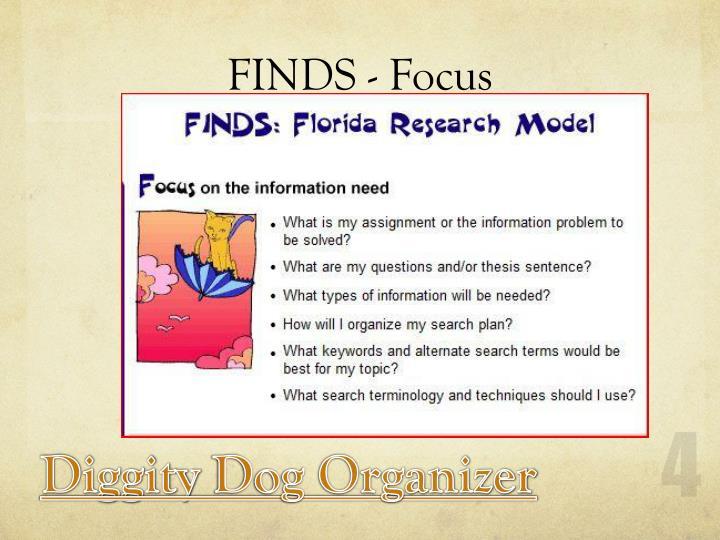 FINDS - Focus