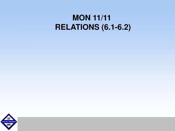 MON 11/11