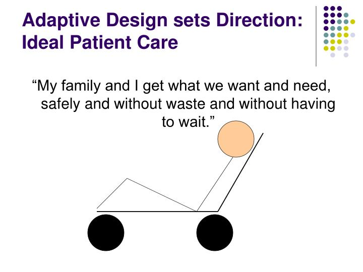 Adaptive Design sets Direction: