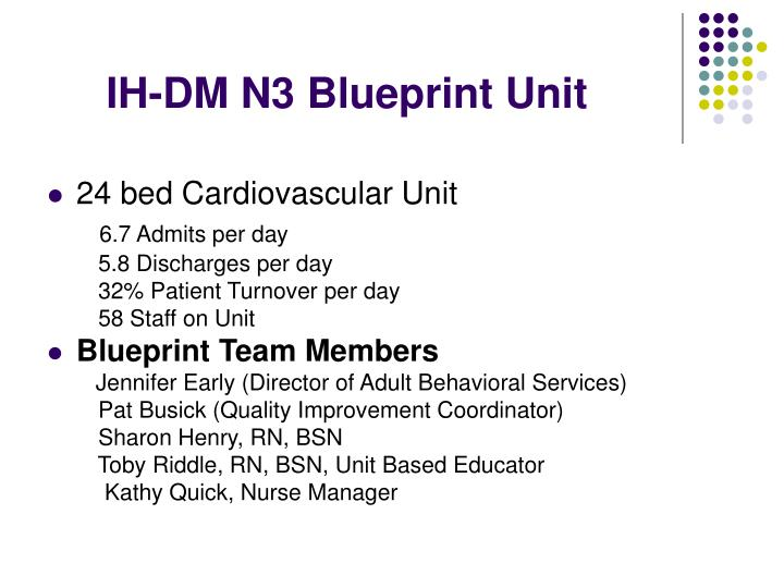 IH-DM N3 Blueprint Unit