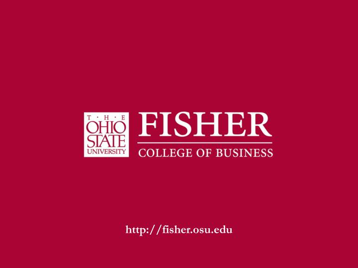 fisher.osu.edu
