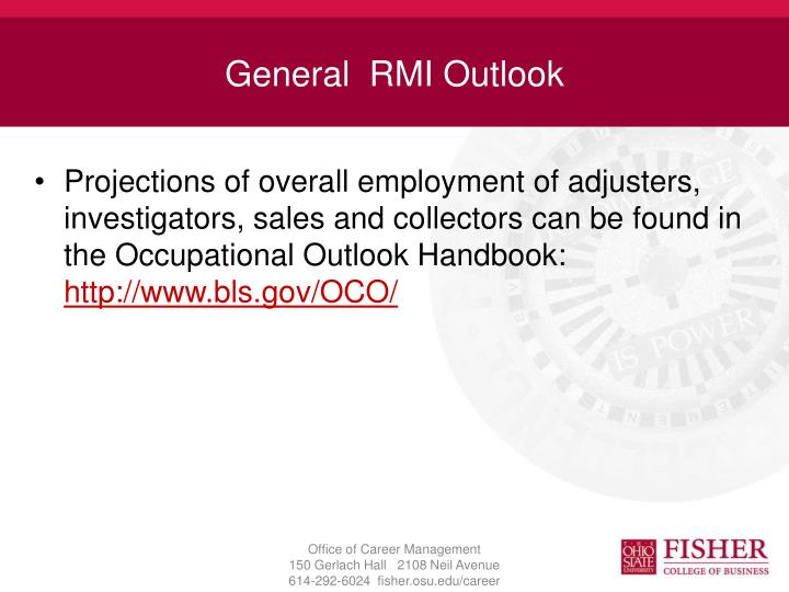 General  RMI Outlook