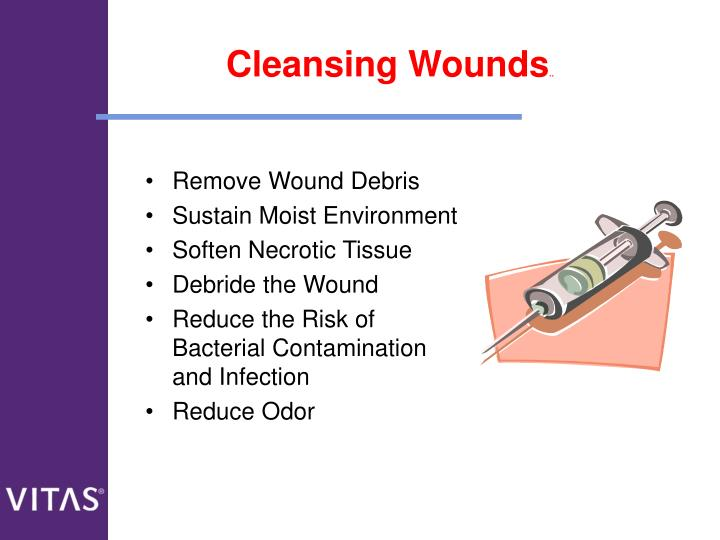 Cleansing Wounds
