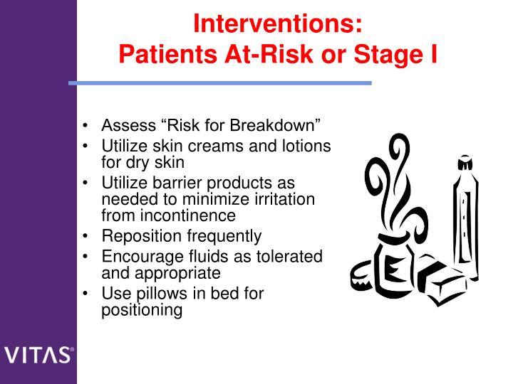 Interventions: