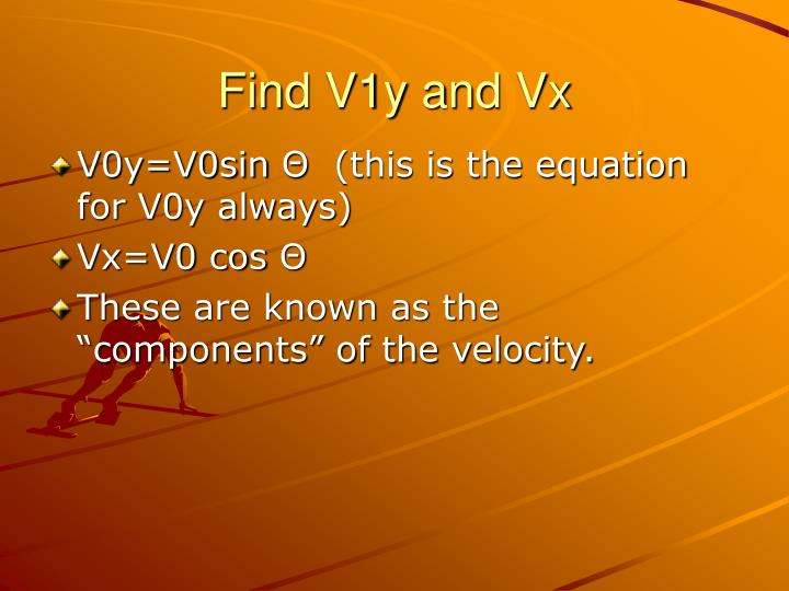 Find V1y and Vx