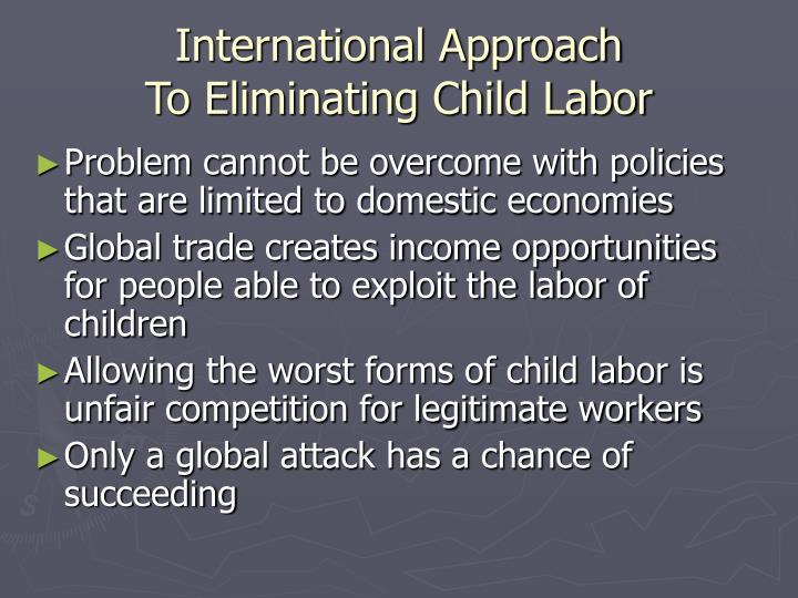 International Approach