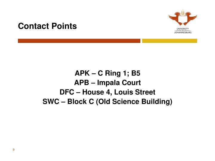 APK – C Ring 1; B5