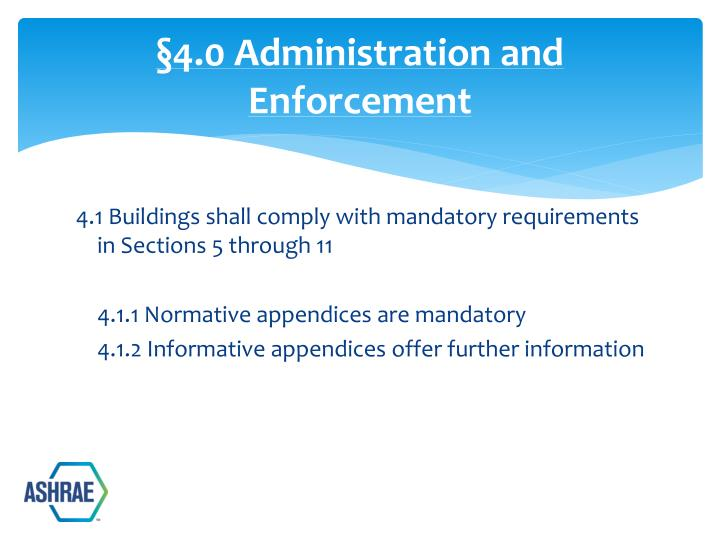 §4.0 Administration and Enforcement