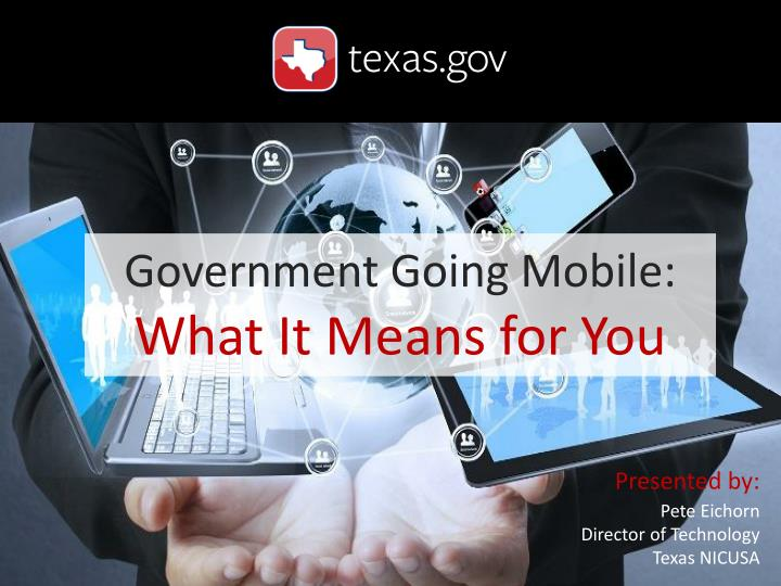 Government Going Mobile: