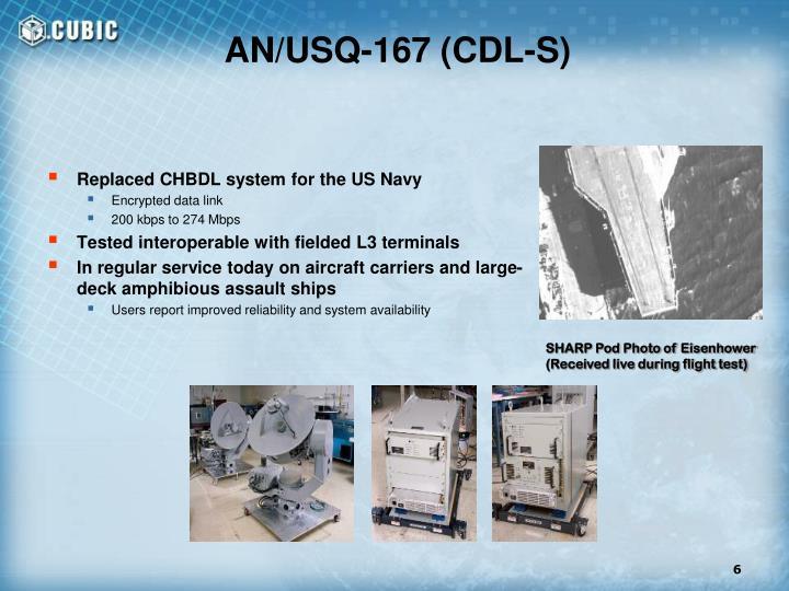 AN/USQ-167 (CDL-S)