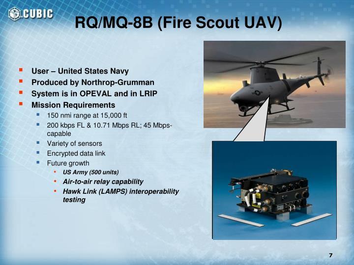 RQ/MQ-8B (Fire Scout UAV)
