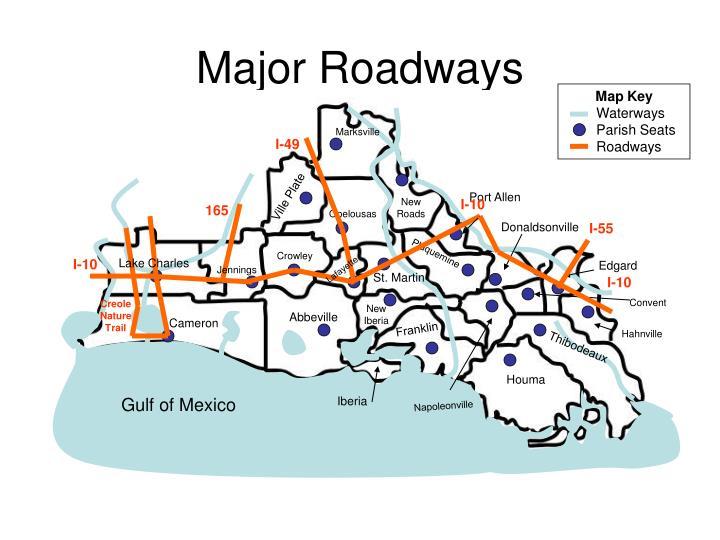 Major Roadways