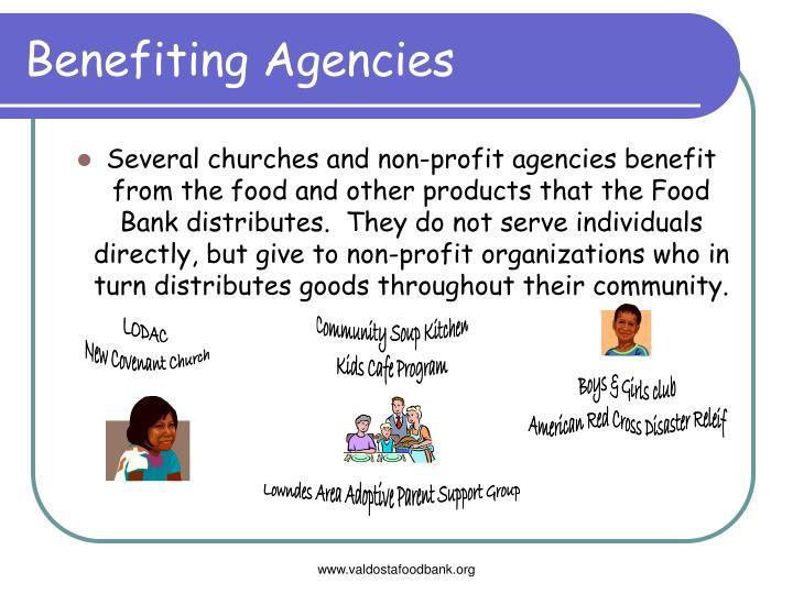 Benefiting Agencies