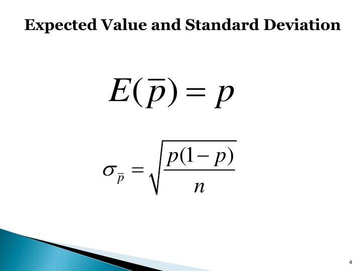 Expected Value and Standard Deviation