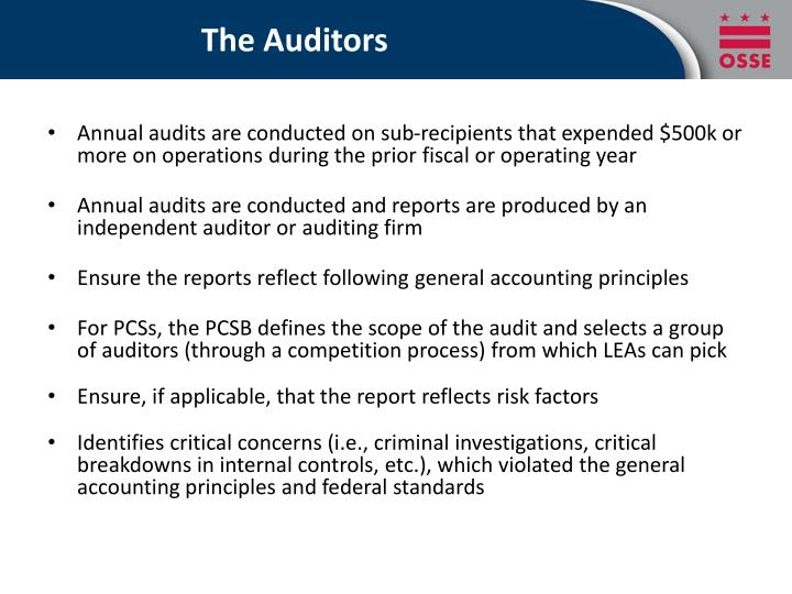 The Auditors