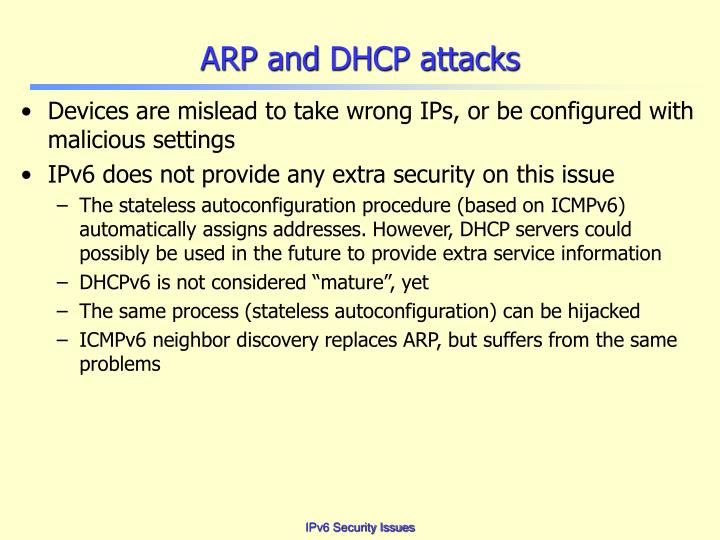 ARP and