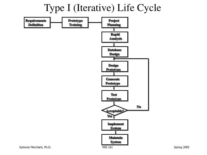 Type I (Iterative) Life Cycle