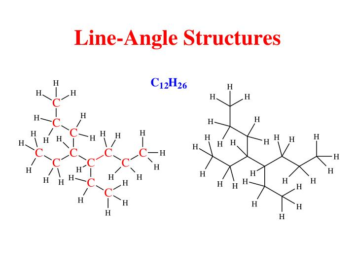 Line-Angle Structures