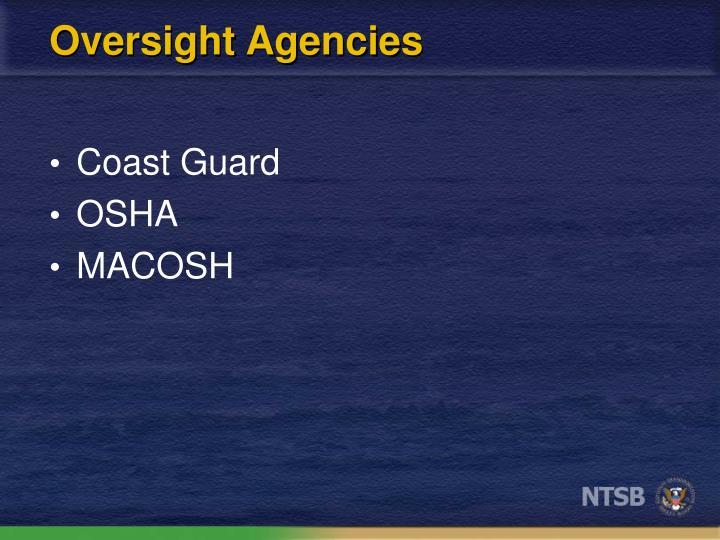 Oversight Agencies