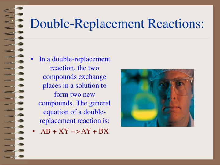 Double-Replacement Reactions: