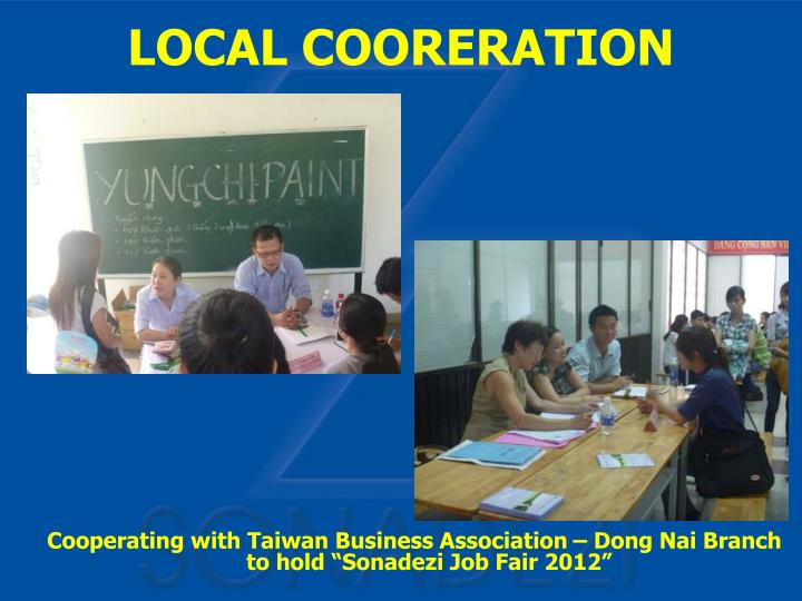 "Cooperating with Taiwan Business Association – Dong Nai Branch to hold ""Sonadezi Job Fair 2012"""