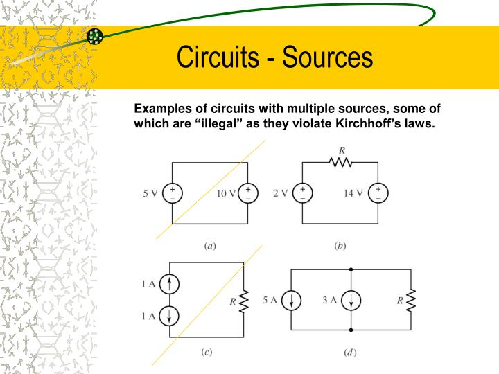 Circuits - Sources