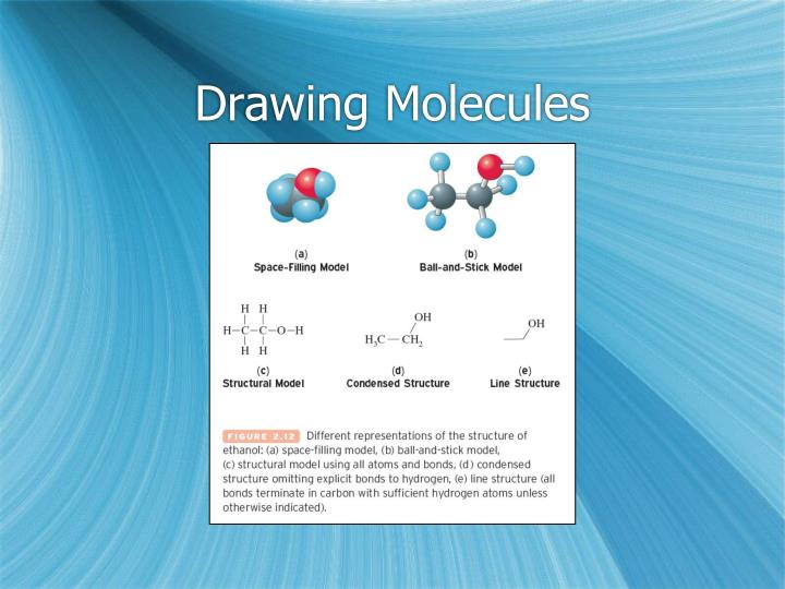 Drawing Molecules