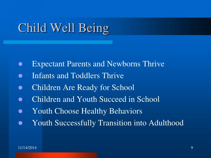 Child Well Being
