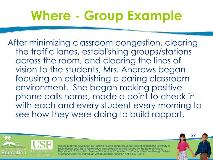Where - Group Example