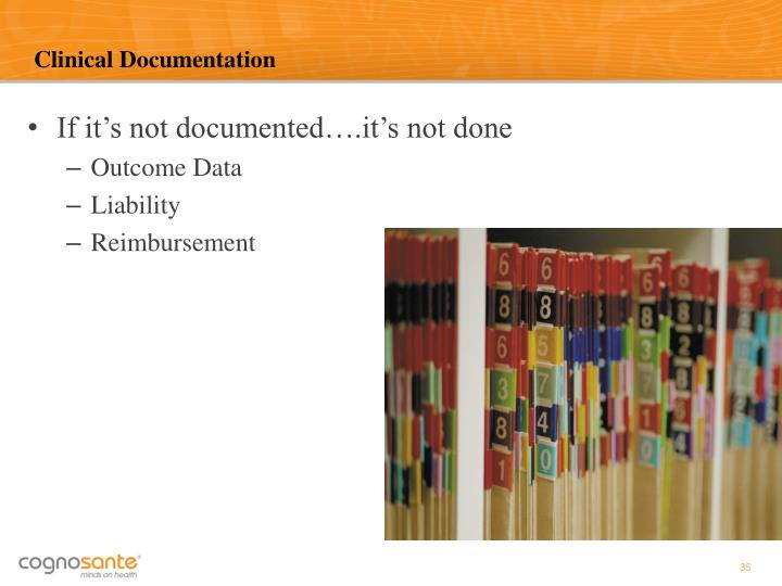Clinical Documentation