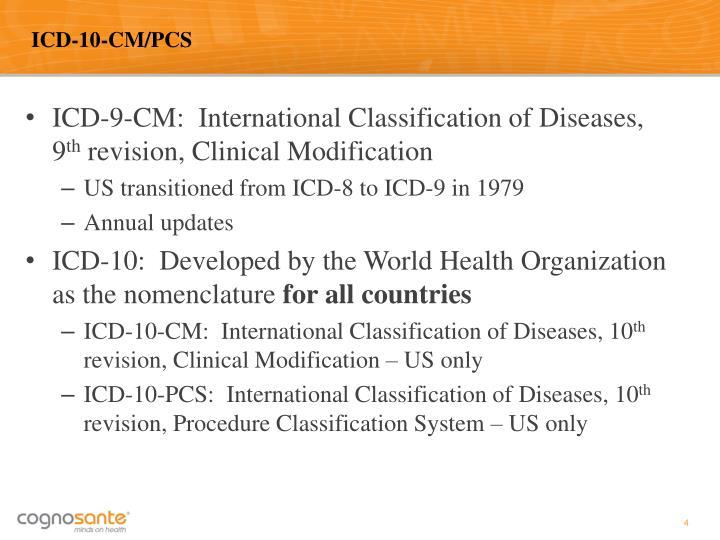 ICD-10-CM/PCS