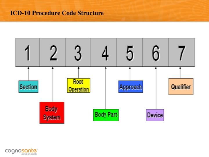 ICD-10 Procedure Code Structure