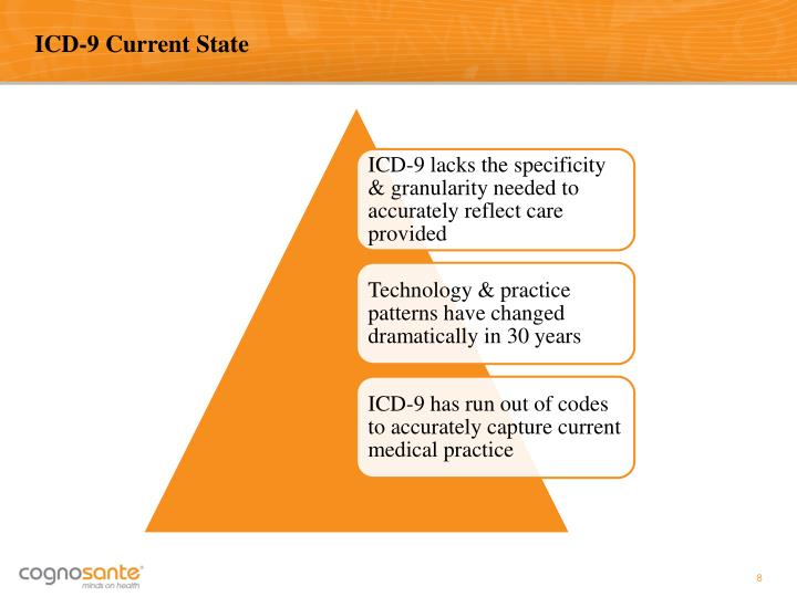 ICD-9 Current State