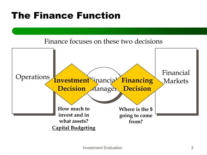 The finance function1