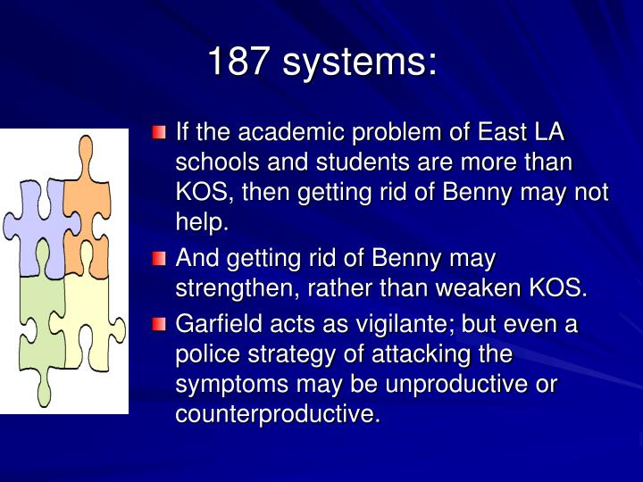 187 systems: