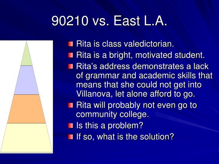 90210 vs. East L.A.
