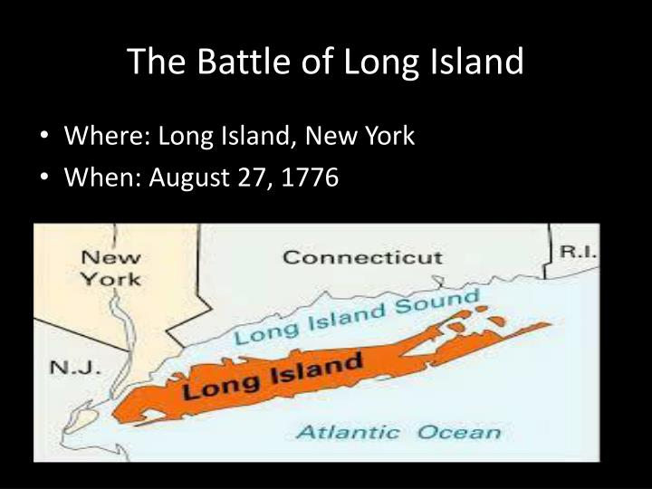Generals In The Battle Of Long Island