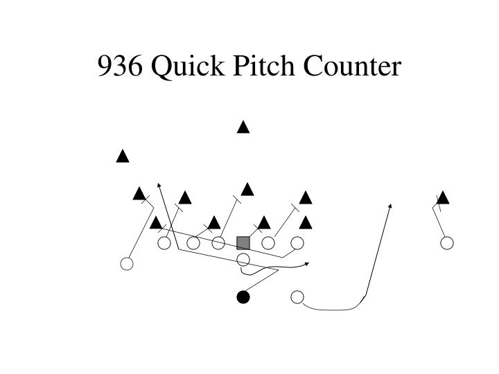 936 Quick Pitch Counter